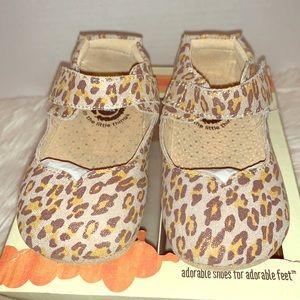 Livie & Luca Astrid Leopard Shimmer 18-24 month